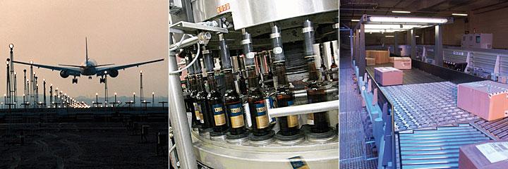 Die Fotos von Maschinen zeigen Ihnen einige Bereiche, in denen MGA in der Elektrokonstruktion aktiv ist.