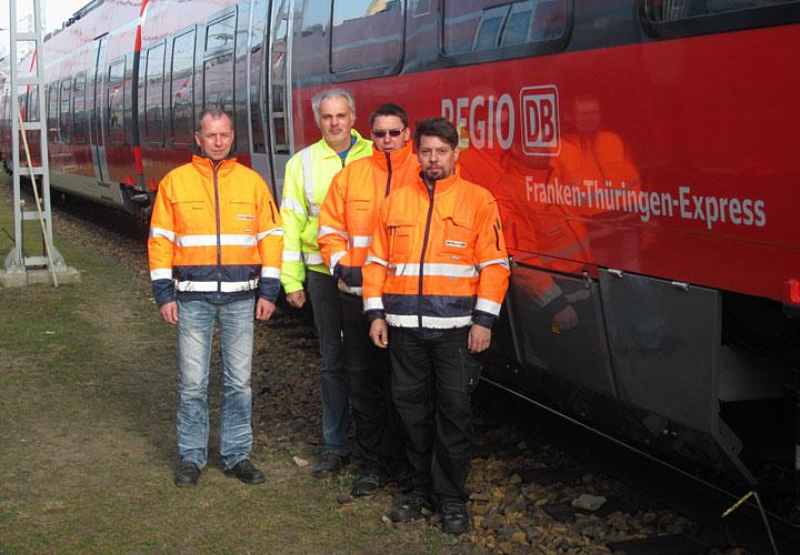 Das Team von MGA: Klaus Becker, Detlef Noll, Karsten Pinnow (v.l.n.r.).